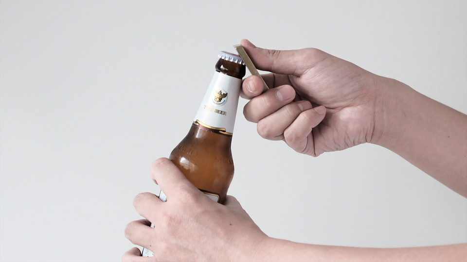two way bottle opener / Tiny formed