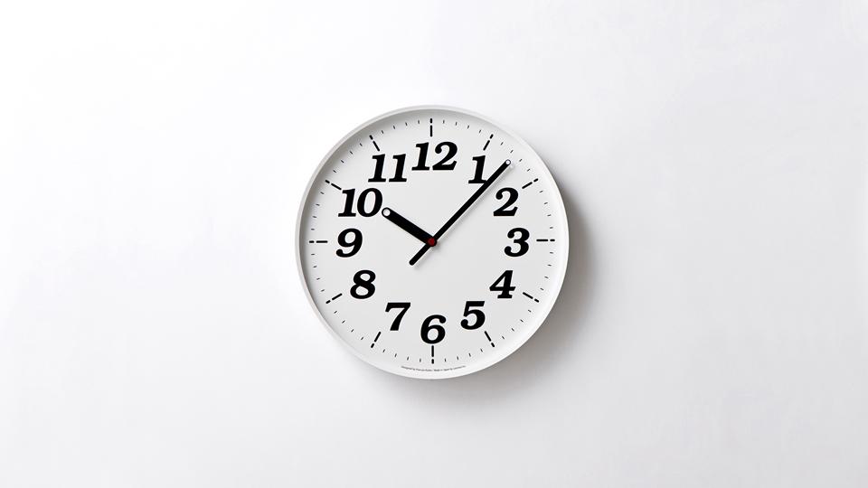 lemnos dot clock by kazuya koike