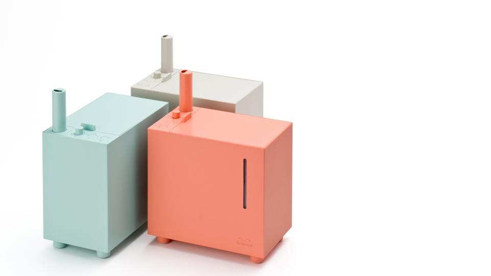 Kamome humidifier by Kazuya Koike