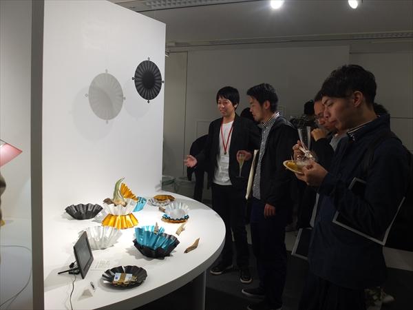 MATERIAL DESIGN EXHIBITION 2016 We participate in MATERIAL DESIGN EXHIBITION held in Jingu-mae area Tokyo.  Exhibitor: Daisuke Kitagawa/ Jin Kuramoto / Shinya Yoshida / Kazuya Koike / AZUCHI 2016.10.26 wed – 12.22 thu 10:00-18:00 at Material ConneXion Tokyo Talk & Party 10/26 wed 18:00-21:00 at same place Talk event guest: Fumie Shibata