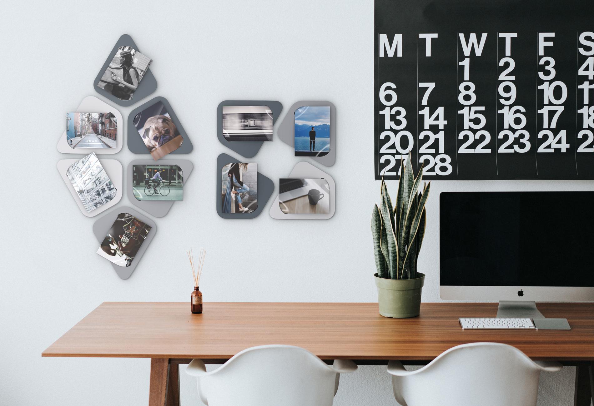 """""""Art tiles"""" photo frames"""